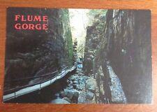 Franconia Notch-NH- Flume Gorge Postcard New