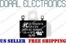 CEILING FAN CAPACITOR 1UF 250V AC 1 UF 250VAC MOTOR ELECTRIC BLOWER CAP MFD 1MFD