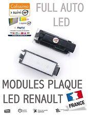 2x Éclairage plaque LED Renault Clio Mégane Laguna Trafic Master Espace Logan
