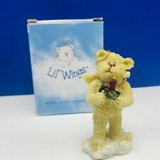 Boyds Bears Lil Wings figurine Christmas angel nib sculpture decor Joy Candle