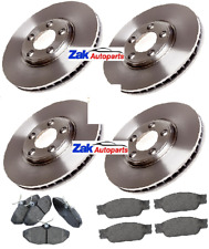 FOR JAGUAR S-TYPE 1999-2004 FRONT AND REAR BRAKE DISCS AND PADS FULL SET *NEW*