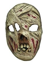 Halloween carnival party mummy costume mask horror latex for adults