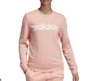 adidas NWT Women's Crew Neck Pink Sweatshirt, Size S     ZZ68