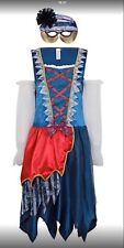 Womens princess pirate masquerade halloween costume with mask size 20/22 New
