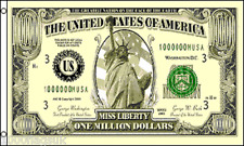 $1,000,000 One Million Dollar Bill Note 5'x3' Flag !