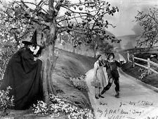 8x10 Print Judy Garland Margaret Hamilton Wizard of Oz 1939 #WO37