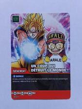 Carte Dragon ball Z Un Coup Qui Détruit Le Monde ! DB-871