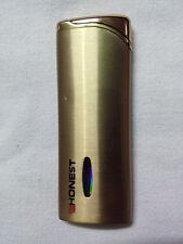 HONEST Cigarette Lighter Gas Refillable Jet Flame  Windproof