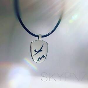 "Sterling Silver Pendant ""Glider"""