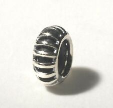 AUTHENTIC TROLLBEAD ORIGINAL TAGBE-10164 SILVER STOPPER SUNBEAM SPACER