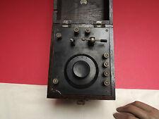 RADIO { Crystal Radio Receiver } KR { Oak Case } C1920 [BBC Approved] Tuner