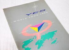 YES • 1984 TOUR PROGRAM (90125 TOUR) • NEAR MINT