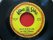 "THE LOVIN' SPOONFUL~DAYDREAM~NIGHT OWL BLS~VINYL~45RPM~7""~KAMA SUTRA RECORDS~VG+"