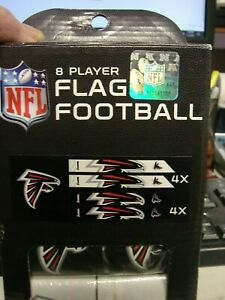Franklin Sports NFL Team Flag Football Equipment Set - 8 Players Atlanta Falcons