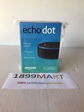 Brand New Amazon Echo Dot 2nd Generation w/ Alexa Voice Media Device Black