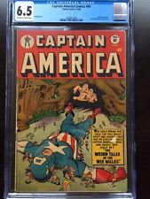 CAPTAIN AMERICA #69 CGC FN+ 6.5; OW-W; scarce; Weird Tales cover!
