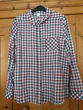 Ladies Blue/Red FOREVER 21 Check Shirt Size Large (14)