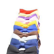 Satin Elastic Bow Tie Ties for Boys