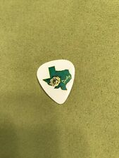 Zz Top Dusty Hill Yellow Rose Guitar Pick - Tour Issued!