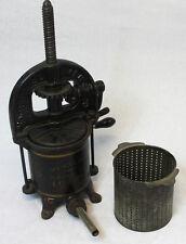 Antique Cast Iron Enterprise Sausage Stuffer
