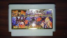 DOUBLE DRAGON 3, MORTAL KOMBAT STREET FIGHTER Nintendo NES compatible, NUEVO