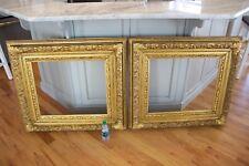 Pair of Large Ornate Antique Fine Art Frames