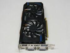 MSI NVidia GeForce GTX 560 1GB GDDR5 PCIe 2.0 x16 Video Card Dual-DVI/Mini-HDMI