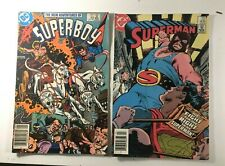 Superman & Superboy DC 2 comic lot grab bag! I combine Shipping!