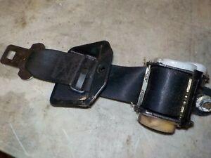 86-89 Toyota Celica Driver Left Rear Seat Belt Retractor Black OEM Male
