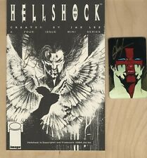 HELLSHOCK ASHCAN & RARE PHONE CARD📞- SIGNED BY JAE LEE 1994🔥