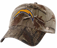 CAMO San Diego Chargers BASEBALL HAT Adjustable NFL Cap Hunting Realtree Design
