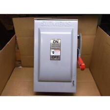 SIEMENS HF362R/83360 HEAVY DUTY SAFETY SWITCH 3-POLE 60AMPS, 600VAC/600VDC