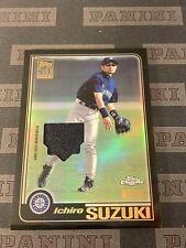Ichiro Suzuki Relic Retro Rookie 2020 Topps Chrome Baseball Mariners