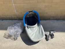 Quinny Senzz Carrycot With Seat Adapters & Rain Cover