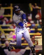 Gary Sheffield Signed 16x20 Milwaukee Brewers Photo JSA COA Inscription
