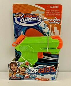 Nerf Super Soaker Zip Fire MICRO-SIZED SOAKING Squirt Water Gun Green NEW