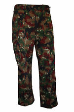 Genuine Swiss Army M83 Pants Alpenflage Camo Combat Trousers Unused Surplus