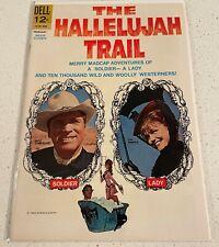 DELL COMICS MOVIE CLASSICS THE HALLELUJAH TRAIL BURT LANCASTER LEE REMICK 1965