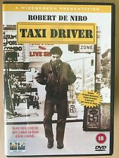 Robert De Niro Jodie Foster TAXI DRIVER ~ 1976 Martin Scorsese Classic UK DVD