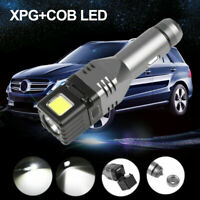 Car Charger LED Magnetic Flashlight COB Emergency Torch Rechargeable Work Light