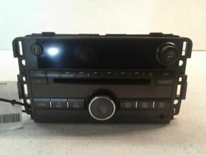 Radio Receiver CD Player 2008 08 BUICK LUCERNE 25887589