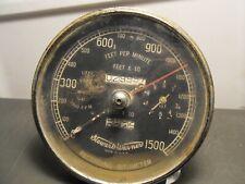 Rare Vtg 1950s Stewart Warner Recording Bitumeter Feet Per Minute