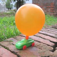 DIY Balloon Reaction Car Creative Educational Toy Science Experiment Toys Gift