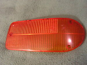 Jaguar Euro Front Right OEM Orange Blinker Running Light 1968 69 - 76 XJ6 / XJ12