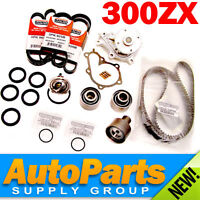300ZX NON-TURBO Complete Timing Belt+Water Pump Kit Genuine & OEM Parts 1990-93