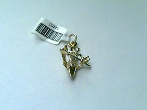 Sterling Silver kayaking charm/Pendant New  RRP $22