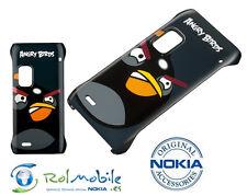 Funda Nokia CP-5001 Original Para Nokia E7 Angry Birds Color Negro