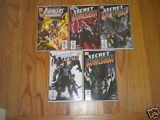 Marvel Comics Secret Invasion Lot of 5 Avengers Invader