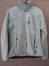 SUPER RARE ARC'TERYX DEEP PILE RETRO CARDIGAN FLEECE JACKET LARGE L ROBIN'S EGG