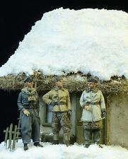 D-Day Miniature German armas SS Officers invierno 1943-45 1:72